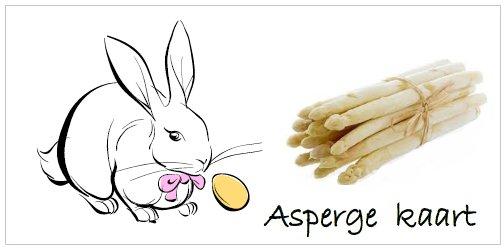 asperge kaart